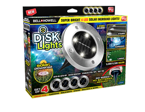 Disk Lights 4 pzs
