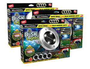 Disk Lights 12 Pzs